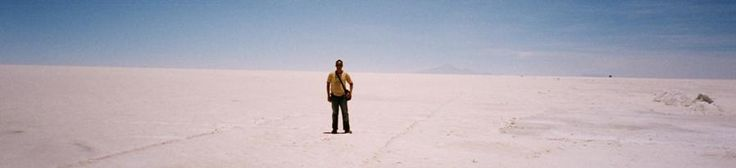 Salar Uyuni - The Most Enterprising Salt Maker in Bolivia. Tour Photo!