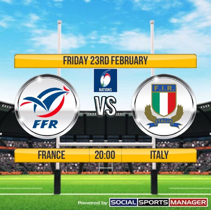 France v Italy 6 Nations Rugby Live