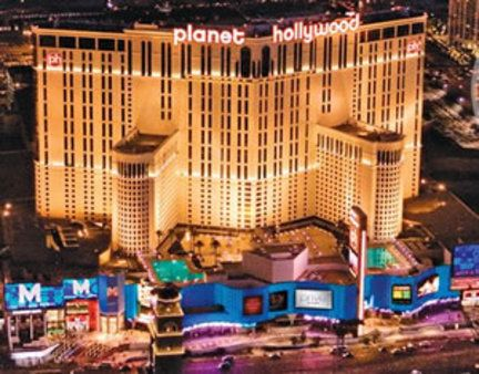 Planet Hollywood, Las Vegas ~ one of my fave hotels, it's got the Miracle Mile shops in here as well as the Cabo Wabo ❤