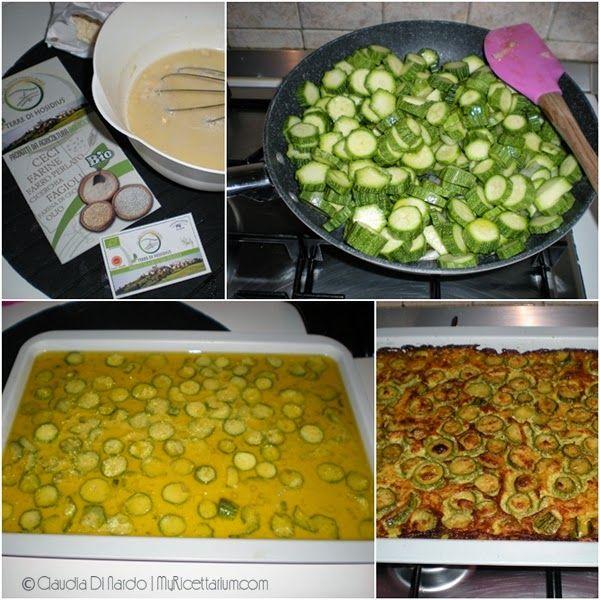 My Ricettarium: Farinata di ceci con zucchine