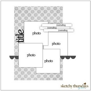 LO: Scrapbook Ideas, Layout Sketch, Photo Layout, Scrapbook Photo, Scrapbook Layout, Scrapbook Sketch, Sketchi Thursday, Sketchi Scrapbook, Scrappy Sketch