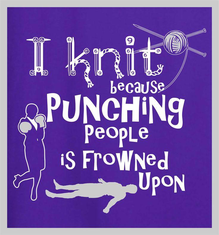 i knitt because #tshirtdesign #tshirtprint #knit #knitting #tinygecko