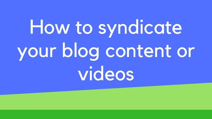 Content Syndication Platforms: How to syndicate your blog content or videos How to syndicate your blog content or videos in this video I show you my secret sauce on how I quickly and easily syndicate my content. To create social signals to my videos and blog posts. This software is currently not available to the public. If you are interested in using it please drop me a comment below. Or if you have any suggestions or ideas you would like to share with me about the software let me know…