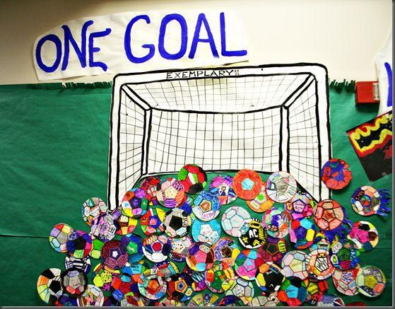 Soccer bulletin board