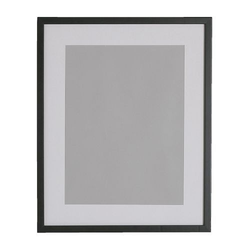 "RIBBA Frame Black - 11 ¾x15 ¾ "" (8x10 photo)- IKEA $6.99 -- comes in other sizes: $9.99 for ~ 11 x 15 pic.. $17.99 for large (19 x 27 pic with mat. $4.99 for small 5x7 or 4x6 pics."