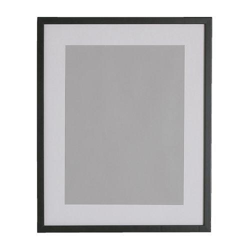 RIBBA Cornice, nero Numero articolo: 101.325.28 € 9,06   Misure del prodotto  Larghezza: 32 cm  Altezza: 42 cm  Larghezza immagine: 30 cm  Adatta a immagini formato A4, se usata con il passe-partout.