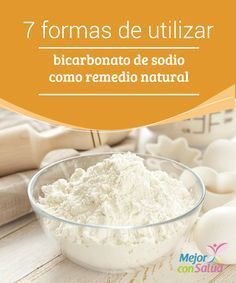 7 formas de utilizar bicarbonato de sodio como remedio natural  El bicarbonato de sodio es un producto utilizado en la gastronomía como agente fermentador de los productos horneados. Este es el que ayuda a que las masas se esponjen y adquieran una consistencia suave.