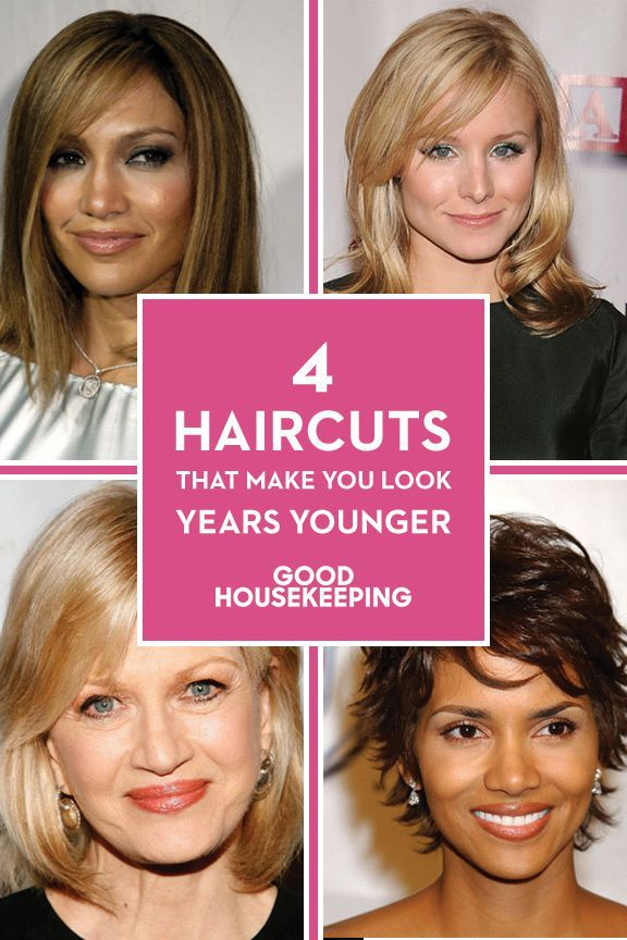2019 year style- New help hairstyles you to look younger