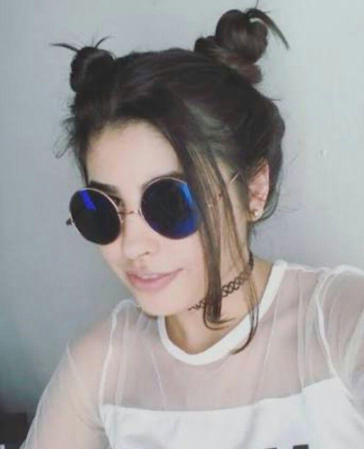 Penteado sofisticado garota Tumblr.