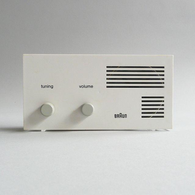 Braun. Designer; Dieter Rams