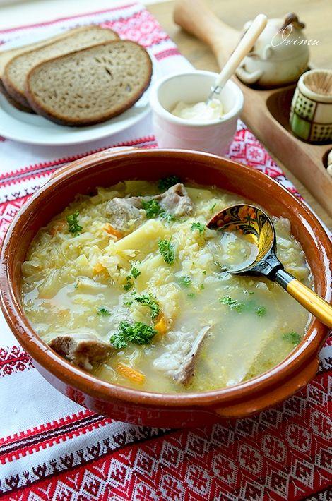 Черновик очумелого кулинара - Украинская кухня. Капустняк запорожский.