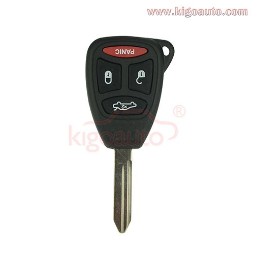 KOBDT04A Remote head key large big button 3button+panic 315Mhz for Chrysler 300 Dodge Durango JEEP GRAND CHEROKEE 2005 - 2008 Chrysler 300 2007 - 2009 Chrysler Aspen 2006 - 2007 Dodge Charger 2006 - 2007 Dodge Durango 2005 - 2008 Dodge Dakota 2006 - 2007 Jeep Commander 2005 - 2007 Jeep Grand Cherokee  other models ,and so on.