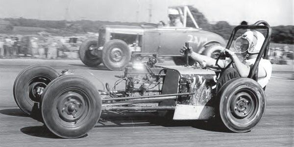 Home built Crosley dragster late fifties