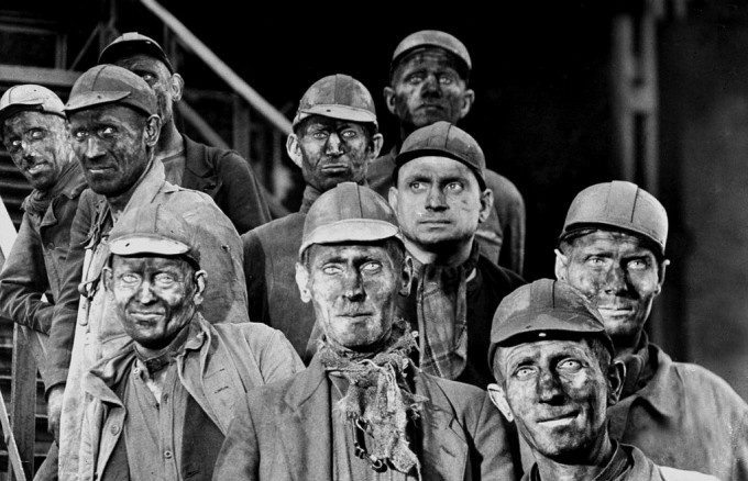 Gelsenkirchen Germany  city pictures gallery : Margaret Bourke White Miners in Gelsenkirchen, Germany, 1945 ...