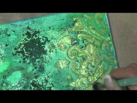 Aspen Mixed Media Canvas - YouTube