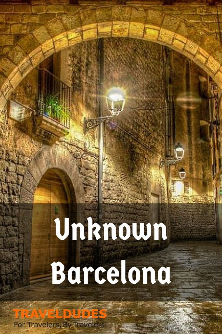 7 Top Secrets about Barcelona. Explore the parts the tourists don't reach... #planyourescape #littlehotels.co.uk
