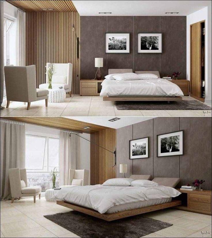 Стильный дизайн спален с творческими подробностями