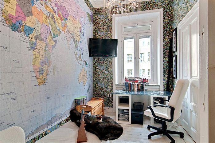 Home Office, World Map Wallpaper | OFFICE   BLOG | Pinterest | World Map  Wallpaper, Map Wallpaper And World Maps