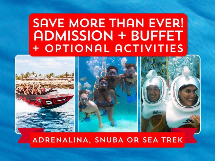 Xcaret Cancun do the sea trek undersea walk w helmet