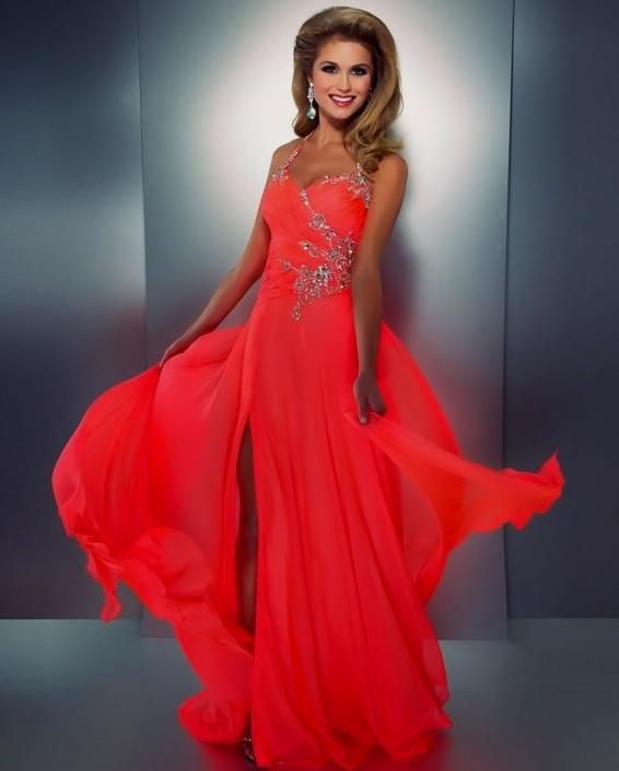 9671f8f69ffa dark orange prom dress Naf Dresses