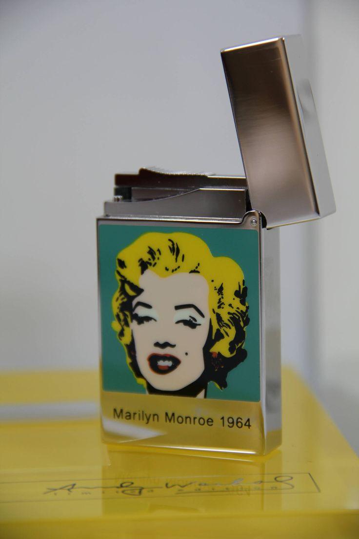 My newest add to my shop: S.T.Dupont Andy Warhol Marilyn Monroe - Line 2 Lighter http://etsy.me/2EaGUjO #vintage #sammlerstucke #lighter #feuerzeug #dupont #tobacco #cigar #tobacciana #unique