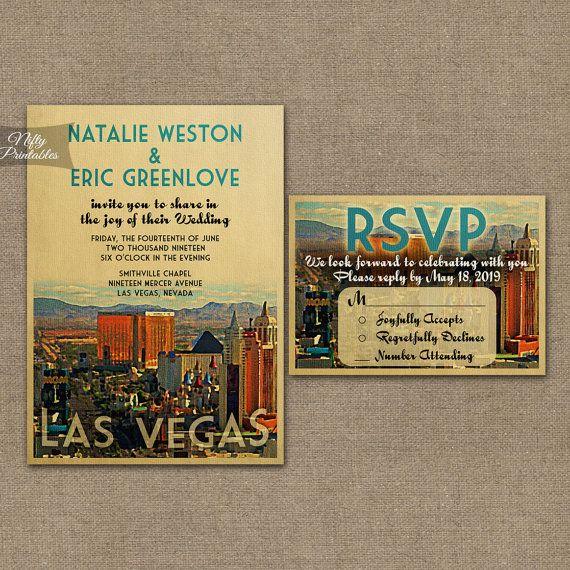 Best 25 vegas wedding invitations ideas on pinterest for Las vegas elvis wedding invitations