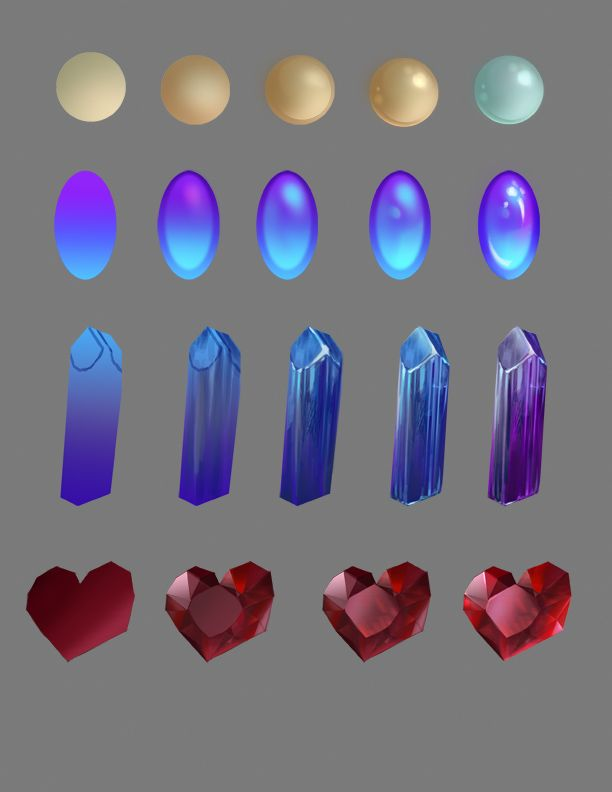 How To Draw Gems by jiuge -                                         How to Art