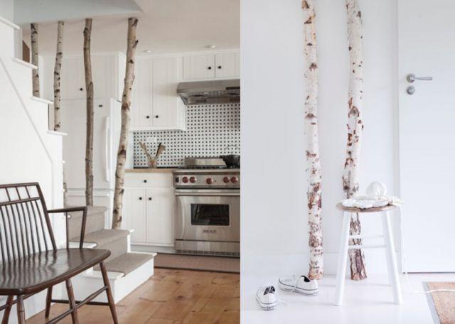 20 inspirations pour mettre un arbre dans la maison