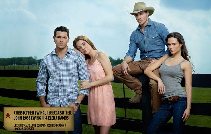 Dallas 2012: Christopher Ewing, Rebecca Sutter, John Ross Ewing & Elena Ramos (TNT)