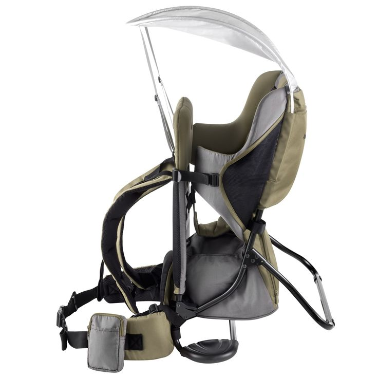 Porte bébé dorsal Kaki  Aubert Concept