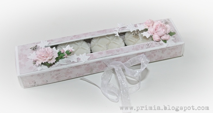 A small box for candles