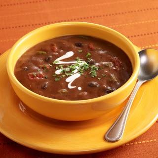Como Hacer Sopa Negra Criolla Costarricense