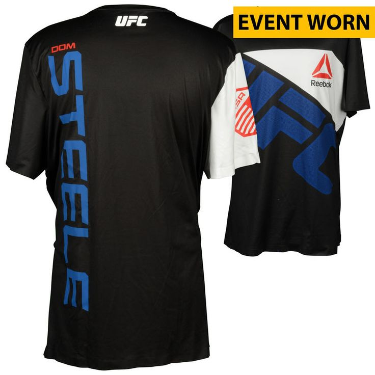 Dominique Steele Ultimate Fighting Championship UFC on FOX Dillashaw vs. Barao 2 Event-Worn Walkout Jersey - Fought Zak Cummings in a Welterweight Bout