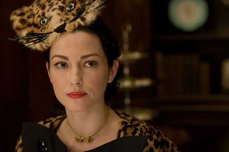 """Julie Dreyfus in Quentin Tarantino's """"Inglorious Basterds"""" wears a hat inspired by Elsa Schiaparelli.  """"Of course, Julie's cat hat is a very visible homage to Elsa Schiaparelli's famous hat, but I think in this case it was a slightly ironic take on the prototype. It's one of the costumes that I'm very proud of and perhaps a personal favourite."""""""