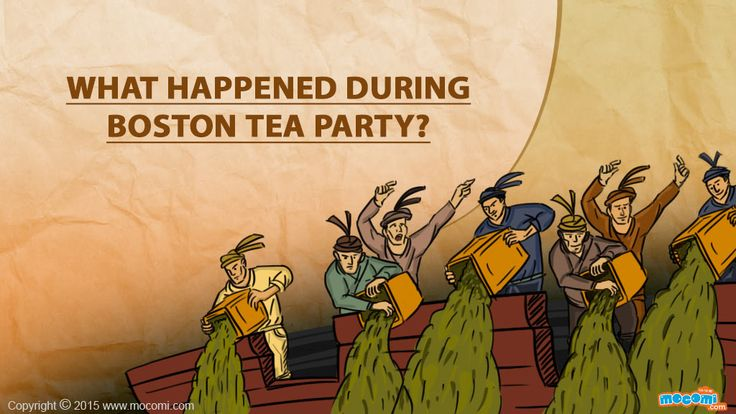 a history of the boston tea party on december 16 1773 Every year on december 16 we celebrate our freedom and the reenactment of   the story of the boston tea party and dramatize the evening of december 16,.