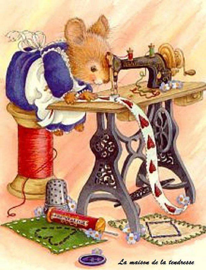 Прикольные картинки швейных машинок, папе одноклассники новогодние