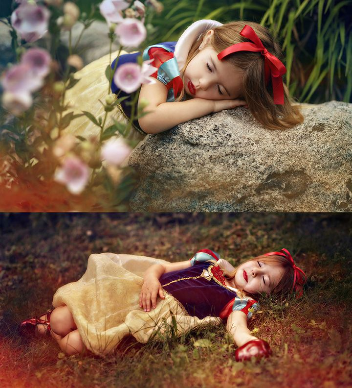 Center of Attention Photography - Snow White Themed Photography Shoot- Northern Michigan - coaphoto.com