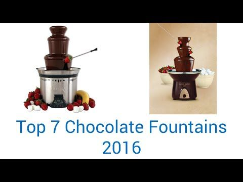 best home chocolate fountain options for