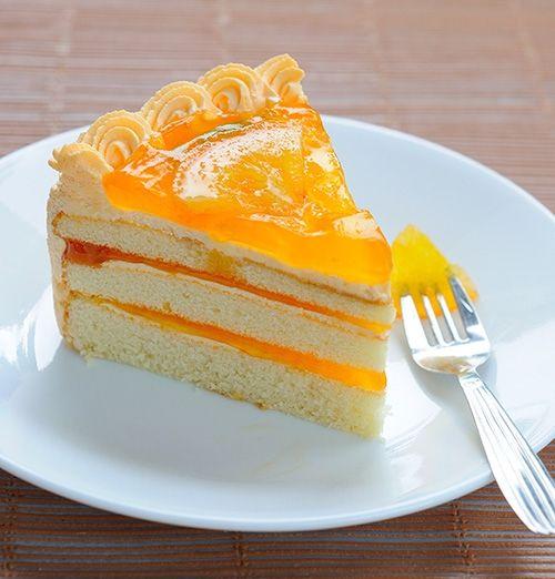 Pastel de Naranja Receta