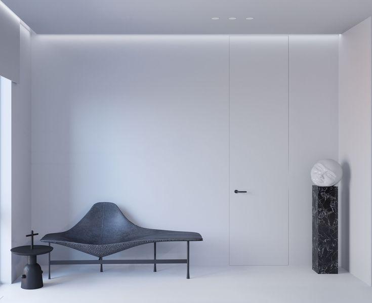 monochrome interior b&b italia jaime hayon samuel salcedo