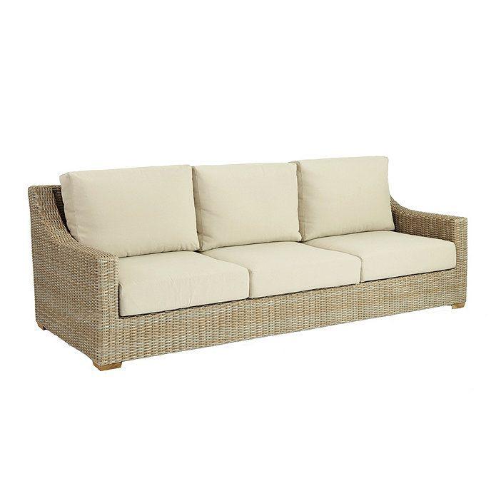 Navio Sofa With Cushions Wicker Sofa Outdoor Outdoor Wicker