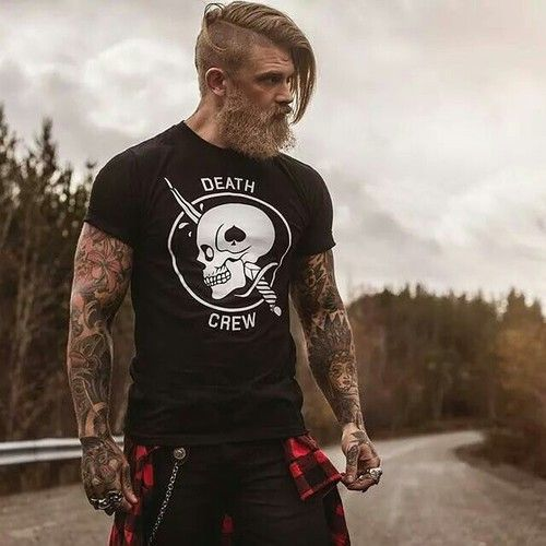 Death Crew | Anchor & Bolts #tattoo #dude #style #beard