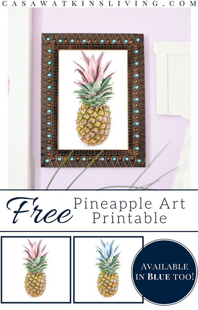 free-pineapple-printable