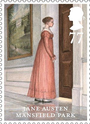 Royal Mail releases set of Jane Austen stamps on 200th anniversary of her masterpiece