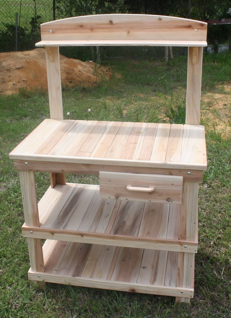 Potting Bench 92 best Outdoor potting bench
