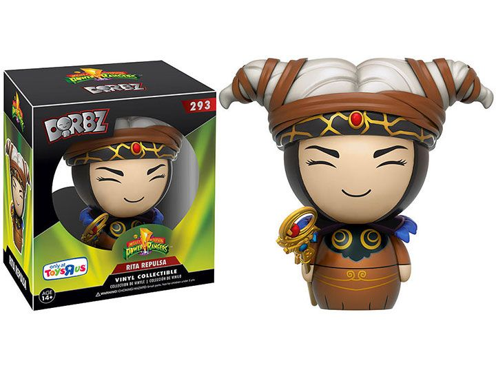 #transformer dorbz: mighty morphin power rangers rita repulsa exclusive