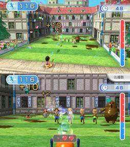 Foot Water Gun - Wii Fit U, Wii U