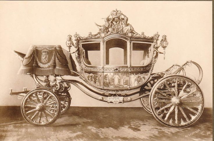 De gouden koets. Huldeblijk van het Amsterdamsche Volk aan H.M. de Koningin 1898.