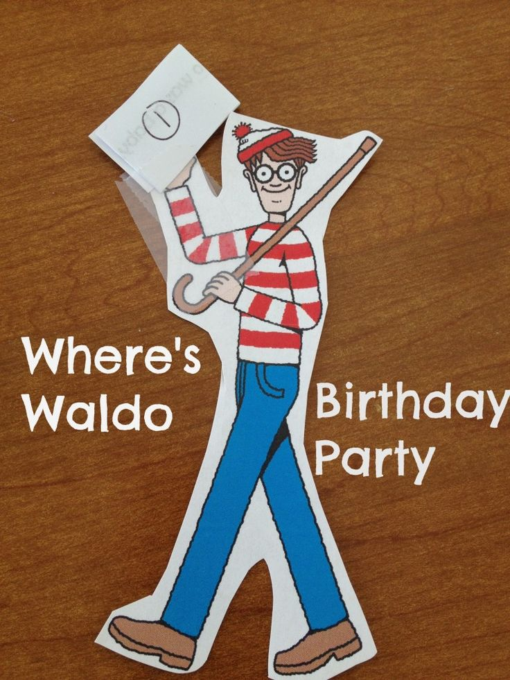 Where's Waldo Party - Musings of a Marfan Mom #WheresWaldo #Waldo #party