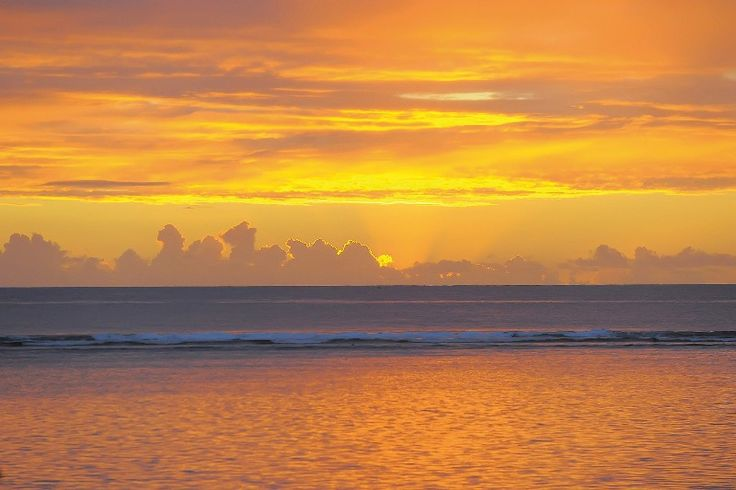 Le Victoria sunset in Mauritius #holiday #vacation #romantic